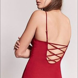 Forever 21 strappy bodycon dress